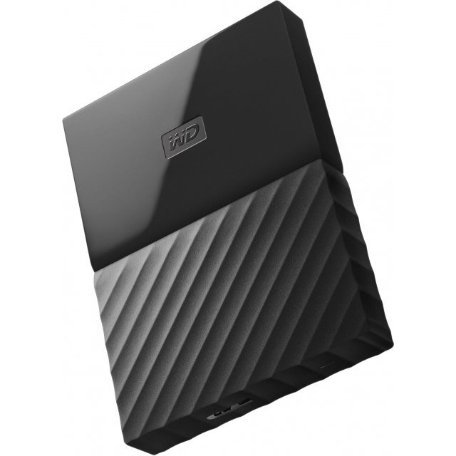 Western Digital My Passport Portable 1TB, USB 3.0 (Black)