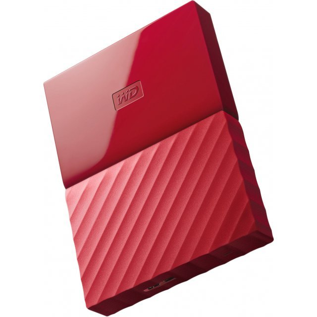 Western Digital My Passport Portable 1TB, USB 3.0 (Red)