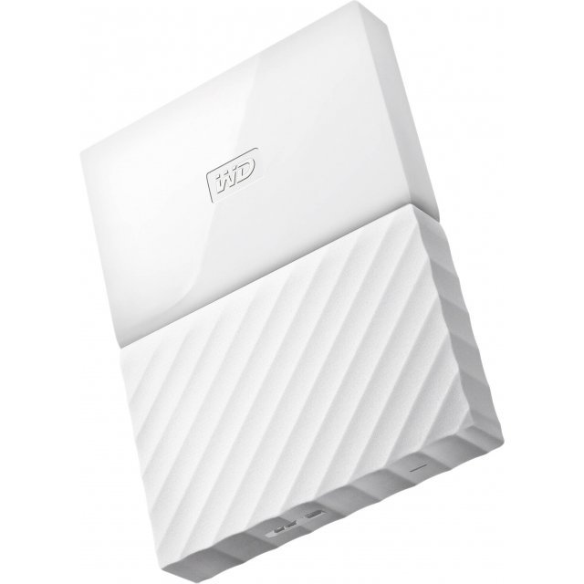Western Digital My Passport Portable 1TB, USB 3.0 (White)