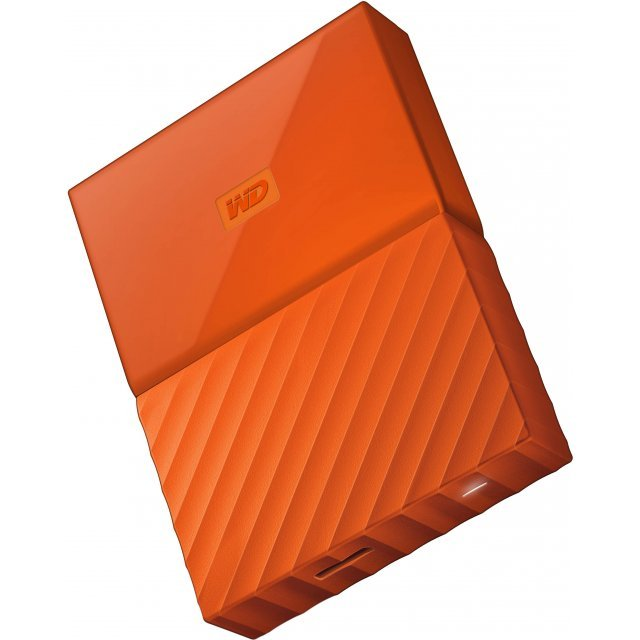 Western Digital My Passport Portable 2TB, USB 3.0 (Orange)