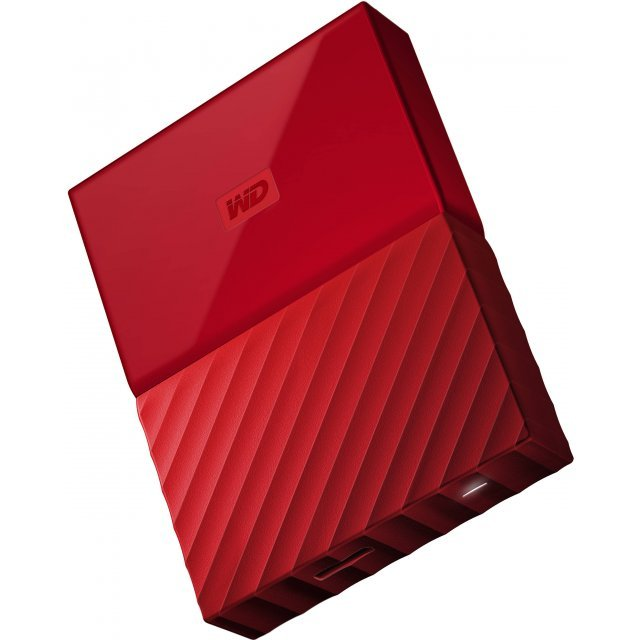 Western Digital My Passport Portable 2TB, USB 3.0 (Red)