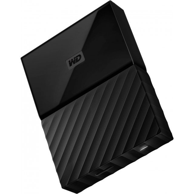 Western Digital My Passport Portable 4TB, USB 3.0 (Black)