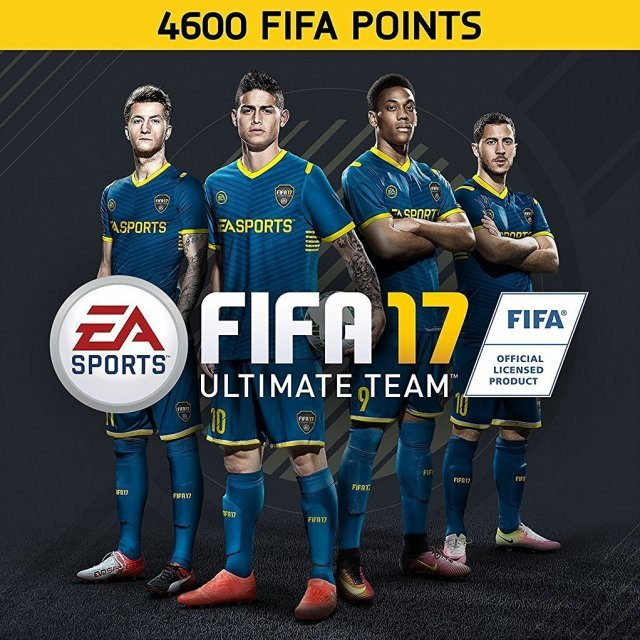 4600 FIFA 17 Points Pack (Origin)