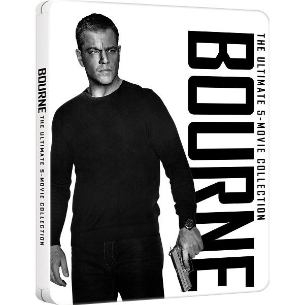 Bourne The Ultimate 5-Movie Collection (5-Discs) (Steelbook Limited Edition)