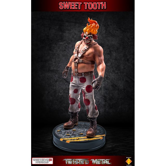 Twisted Metal 1/6 Scale Statue: Sweet Tooth