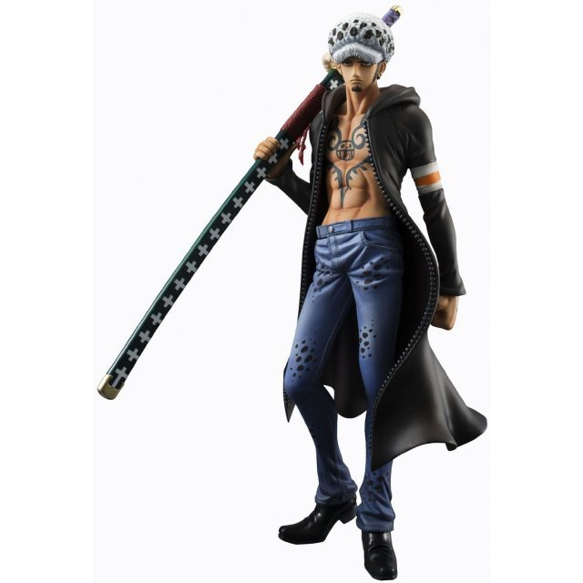 Excellent Model One Piece Portrait of Pirates Sailing Again 1/8 Scale Pre-Painted Figure: Trafalgar Law Ver.2 (Re-run)