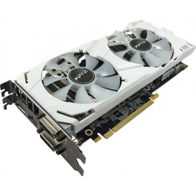 GALAX GeForce GTX 1060 EX OC, 6GB GDDR5 (White Edition)