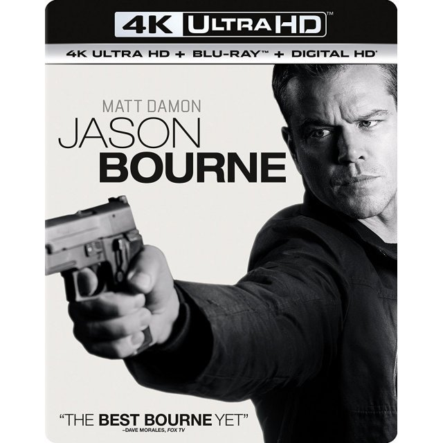 Jason Bourne [4K Ultra HD Blu-ray]