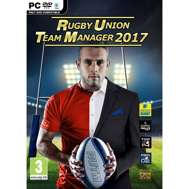 Rugby Union Team Manager 2017 (DVD-ROM)