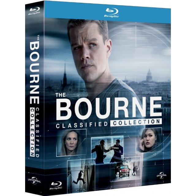 The Bourne Classified Collection (5-Discs + Bonus DVD)