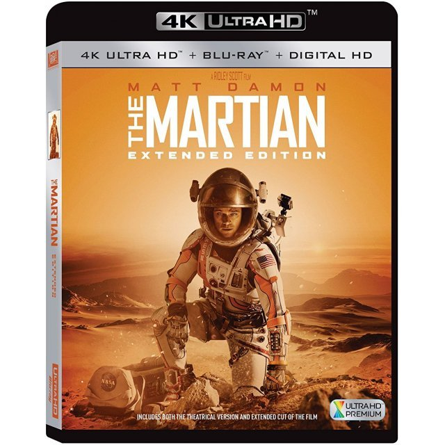 The Martian (Extended Edition) [4K Ultra HD Blu-ray]