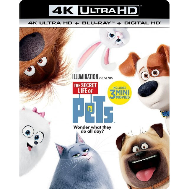The Secret Life Of Pets [4K Ultra HD Blu-ray]
