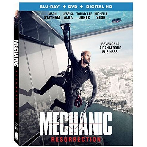 Mechanic Resurrection [Blu-ray+DVD+Digital HD]