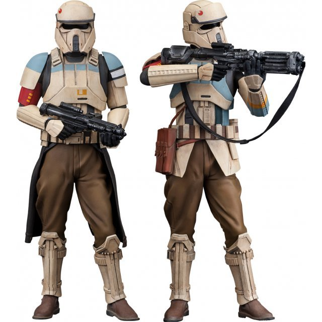 ARTFX+ Rogue One A Star Wars Story 1/10 Scale Pre-Painted Figure: Shoretrooper 2 Pack (Squad Leader & Captain)
