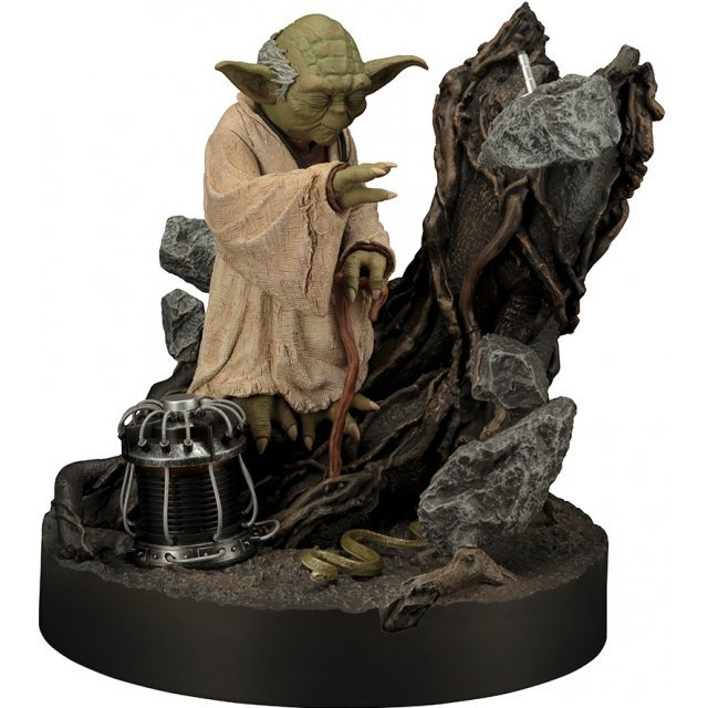 ARTFX Star Wars 1/7 Scale Pre-Painted Figure: Yoda The Empire Strikes Back Edition Repaint Ver.