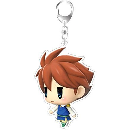 Final Fantasy Big Acrylic Keychain: Bartz