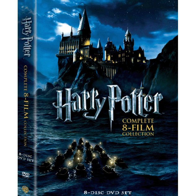 Harry Potter Years 1-7 Part 2 DVD Boxset (8-Disc)