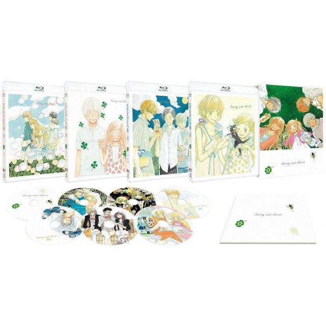 Honey And Clover 1 And 2 Complete Blu-ray Box
