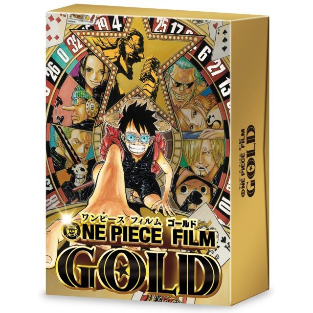 One Piece Film Gold Dvd Golden Limited Edition [Limited Edition]