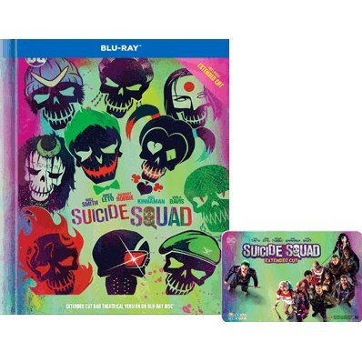 Suicide Squad - Extended Cut (2-Disc) (Digibook) [Movie Card]