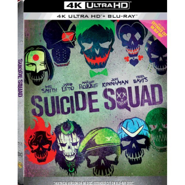 Suicide Squad - Extended Cut (4K UHD+BD) (2-Disc) [Steelbook]