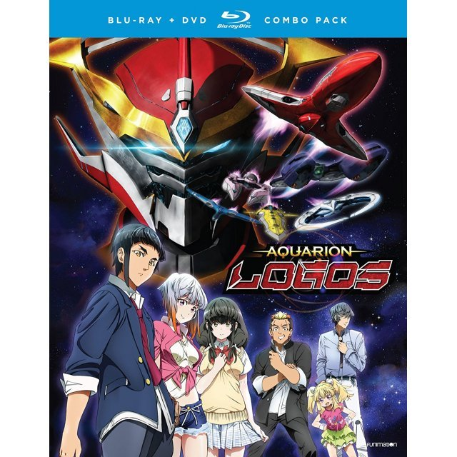 Aquarion Logos: Season Three - Part One [Blu-ray+Digital HD]