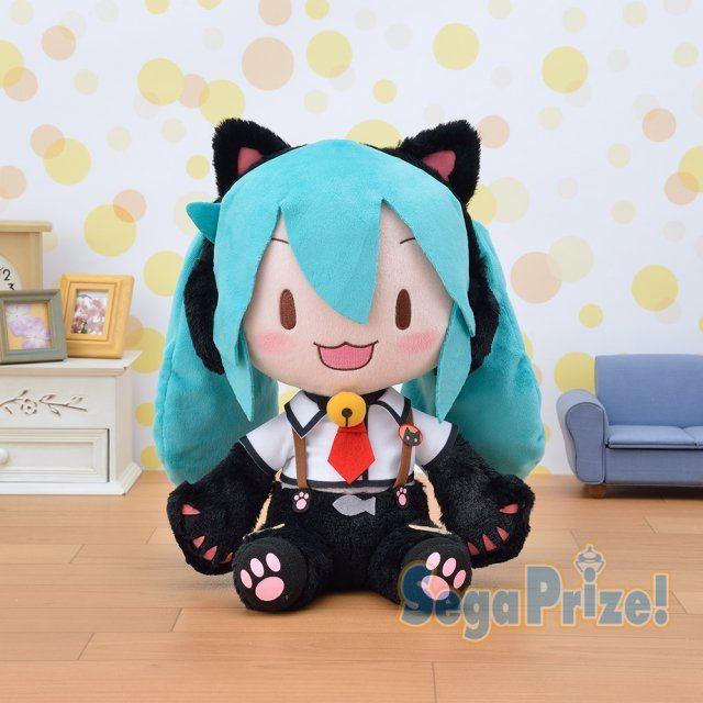 Hatsune Miku series mega-jumbo fluffy stuffed Hatsune Miku maid