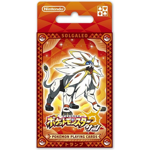 Pokemon Playing Cards (Pokemon Sun)