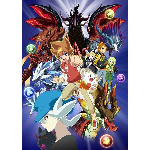 Puzzle And Dragons X Dvd-Box 1
