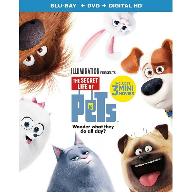 The Secret Life Of Pets [Blu-ray+DVD+Digital HD]