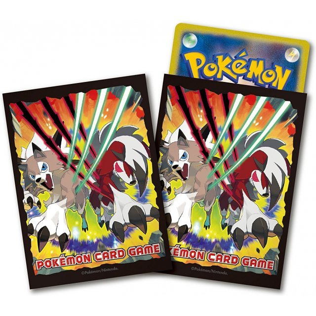 Pokemon Card Game Sun & Moon Deck Shield: Lycanroc (Set of 10 packs)