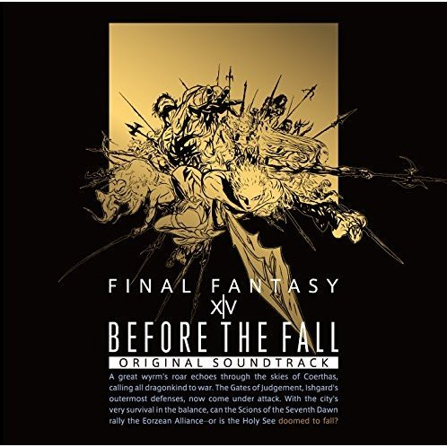Before The Fall Final Fantasy 14 Original Soundtrack [Blu-ray Disc Music]
