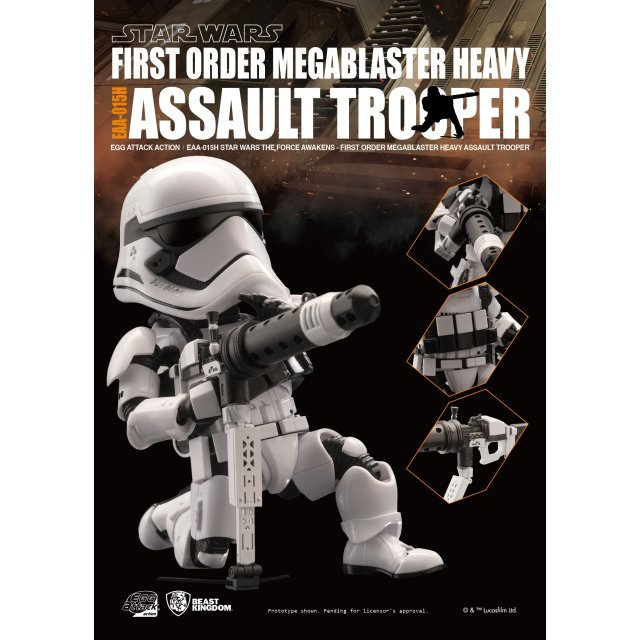 Egg Attack Star Wars The Force Awakens: Megablaster Heavy Assault Trooper