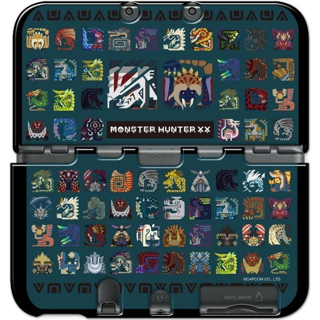 Monster Hunter XX Cover for New 3DS LL (Monster Icon)