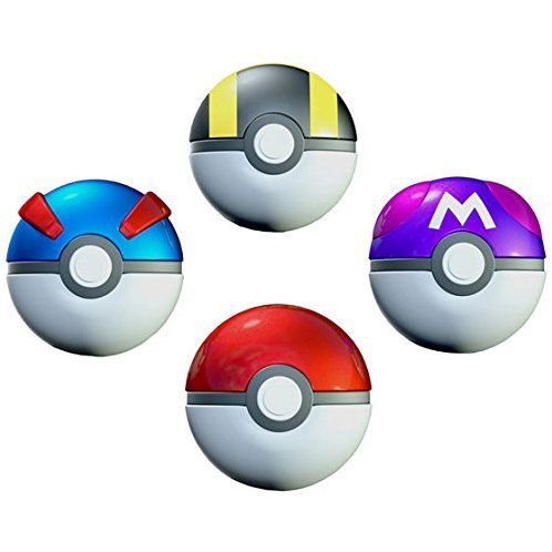 Pokemon Poke Ball Collection (Set of 10 pieces)