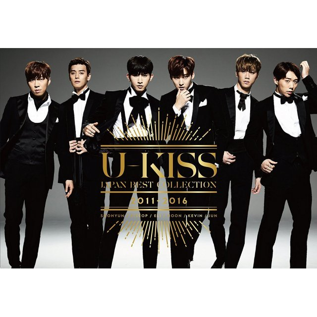 U-Kiss Japan Best Collection 2011-2016 [2CD+2DVD Limited Edition]