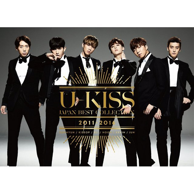 U-Kiss Japan Best Collection 2011-2016 [2CD+DVD]