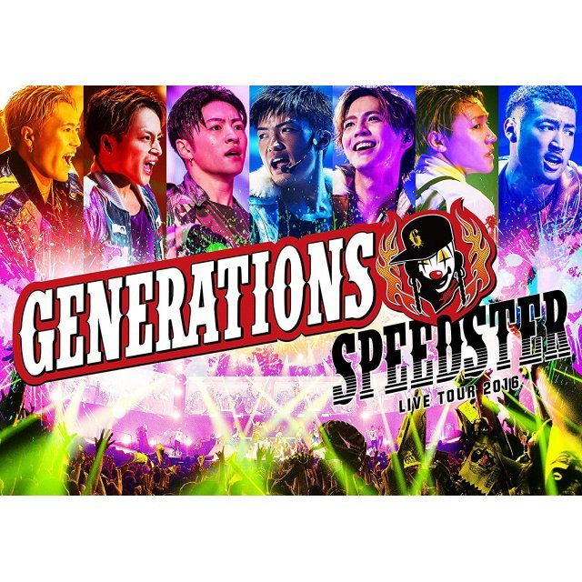 Generations Live Tour 2016 Speedster [Limited Edition]
