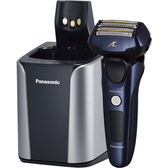 Panasonic ES-CLV7A LAMDASH Men's Shaver (Black)