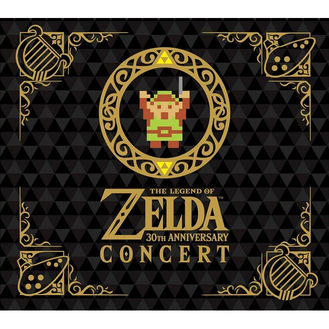 The Legend Of Zelda 30th Anniversary Concert [2CD+DVD Limited Edition]