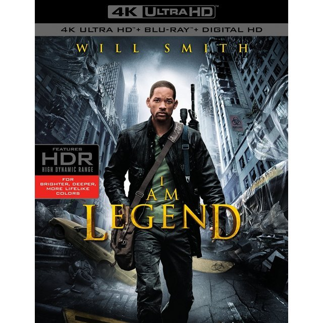 I Am Legend [4K Ultra HD Blu-ray]