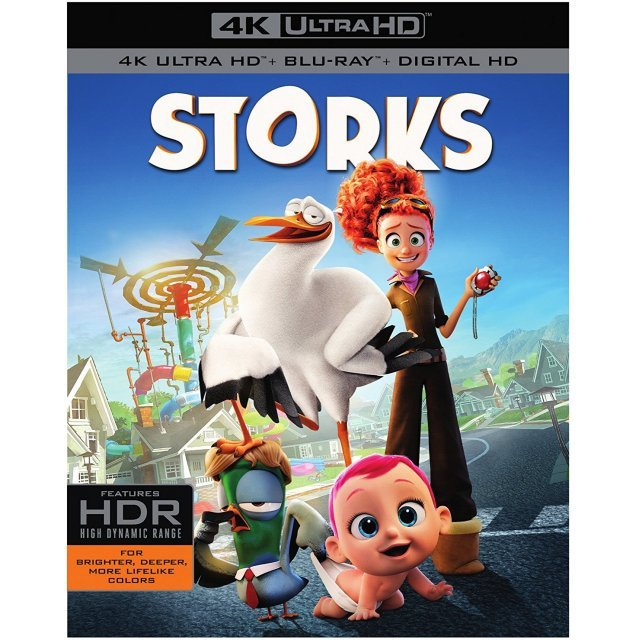 Storks [4K Ultra HD Blu-ray]