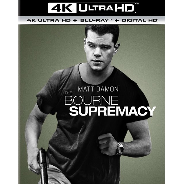The Bourne Supremacy [4K Ultra HD Blu-ray]