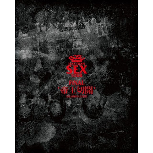 Less Than Sex Tour Final - Teio Sekkai Hibiya Yagai Dai Ongakudo [Blu-ray+CD Limited Edition]
