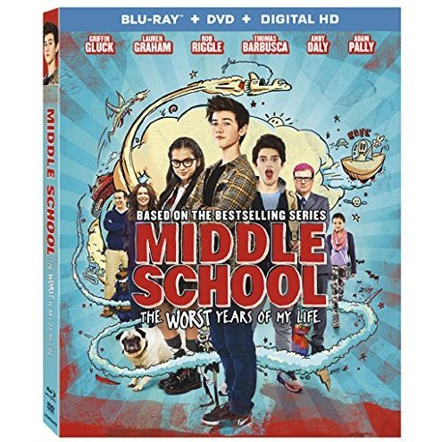 Middle School: The Worst Years of My Life [Blu-ray+DVD+Digital HD]