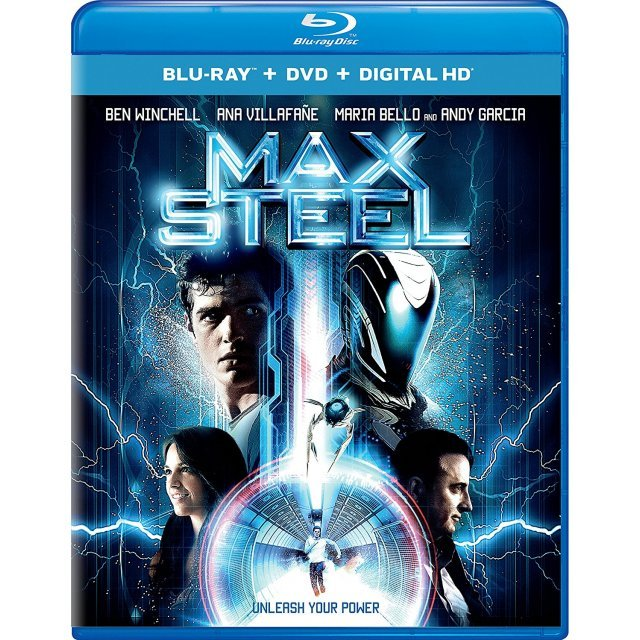Max Steel [Blu-ray+DVD+Digital HD]