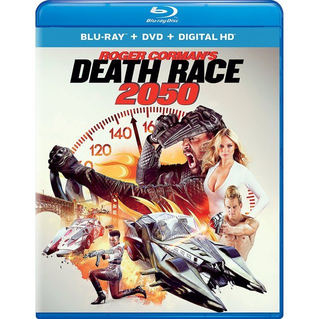 Death Race 2050 [Blu-ray+DVD+Digital HD]