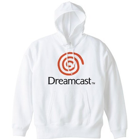 Dreamcast Hoodie White (XL Size)
