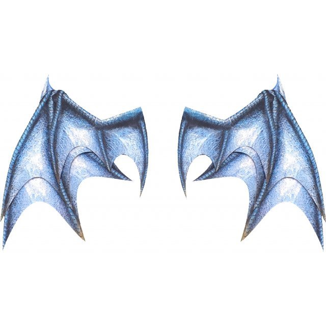 PEPATAMA Series PCP-0013 Paper Effect Wing A Dragon-Wing Blue