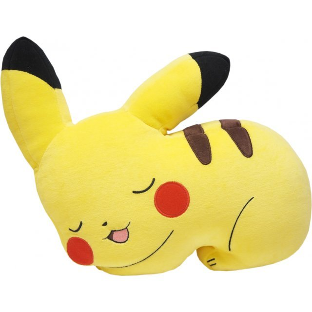 Pokemon Mochifuwa Cushion: PZ17 Pikachu Sleeping
